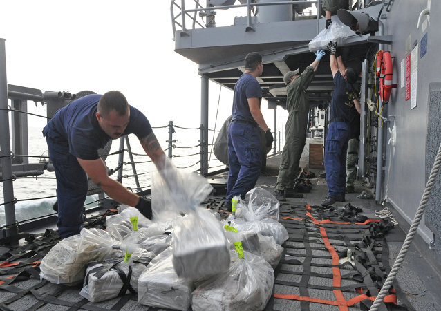 French customs officers have confiscated about 2.25 metric tons of cocaine from a ship in the eastern Caribbean Sea, not far from the island of Martinique, the Finance Minister of France, Michel Sapin, has announced