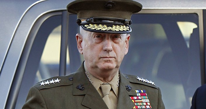 U.S. Marine Corps four-star general James Mattis arrives to address at the pre-trial hearing of Marine Corps Sgt. Frank D. Wuterich at Camp Pendleton, California U.S in a March 22, 2010 file photo