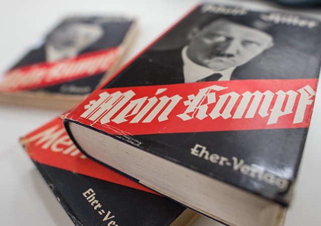 Different editions of Adolf Hitler's Mein Kampf are on display at the Institute for Contemporary History in Munich
