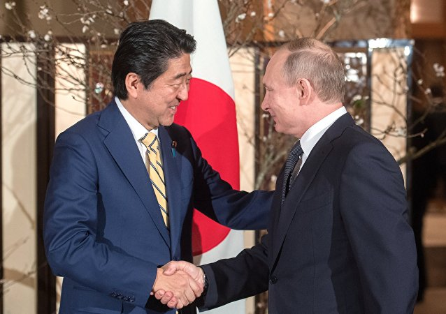 プーチン氏と安倍氏